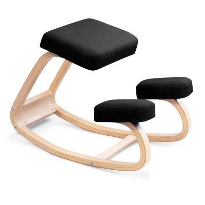 ergonomic kneeling chair back view