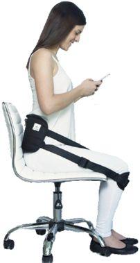 ergolution back up ergonomic back support for sale