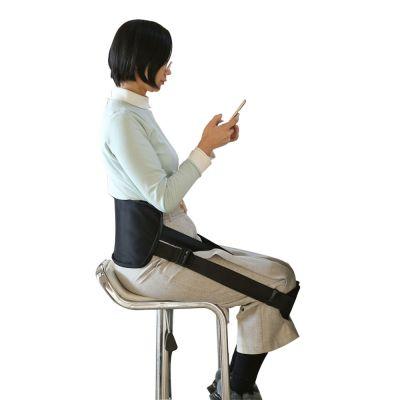 ergolution back up ergonomic back support chair use