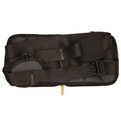 ergolution back up ergonomic back support folded