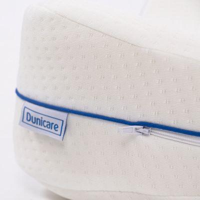 ergolution dunicare leg pillow zipper pictured