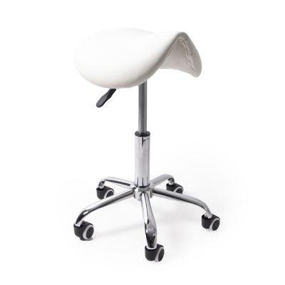 ergolution ergonomic saddle stool white for sale