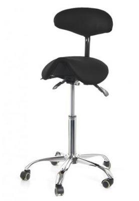 ergolution ergonomic saddle stool with backrest high version for sale