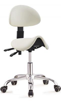 ergolution ergonomic saddle stool with backrest for sale