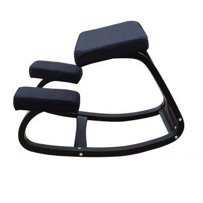 ergonomic kneeling chair black