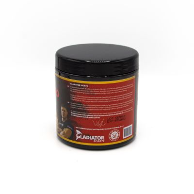 gladiator sports creatine monohydrate right side