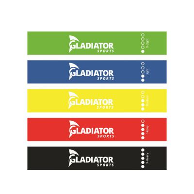 gladiator sports resistance bands front view