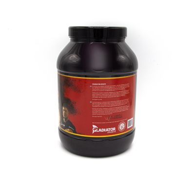 gladiator sports whey proteïne concentrate right side