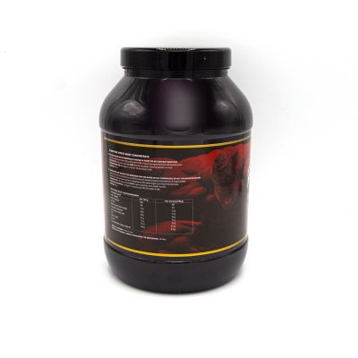 gladiator sports whey proteïne concentrate left side