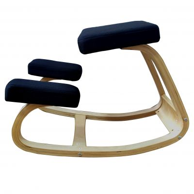 ergonomic kneeling chair side view
