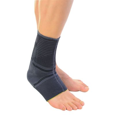 novamed achilles tendon support worn around foot