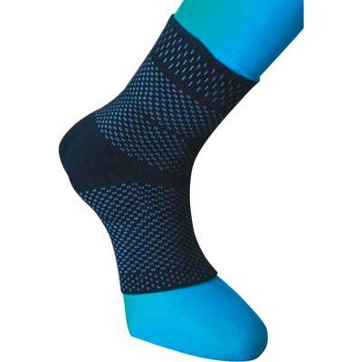 novamed achilles tendon support around left leg