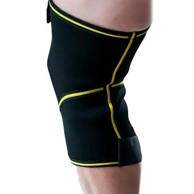 novamed closed patella knee support back view