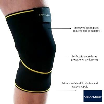 novamed closed patella knee support product information