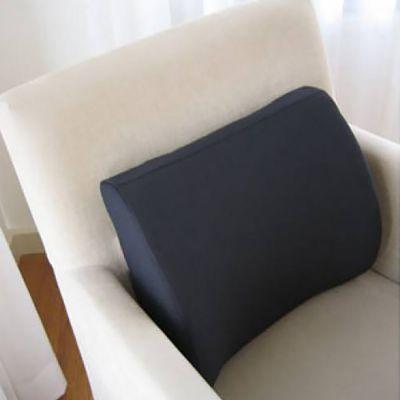 novamed ergonomic back cushion in lounge chair