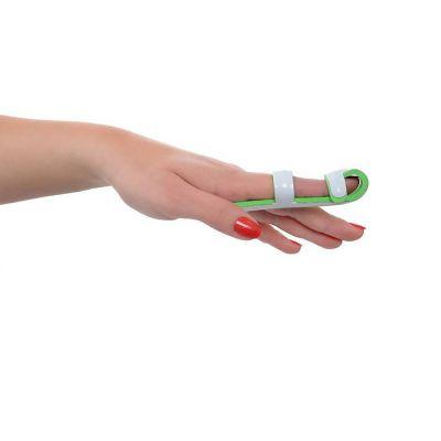 novamed finger splint around the left index finger