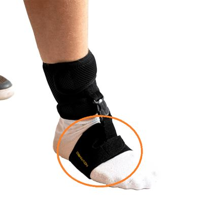 novamed foot drop support shoeless accessory explanation