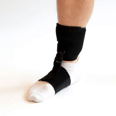 novamed foot drop support shoeless accessory right side pictured