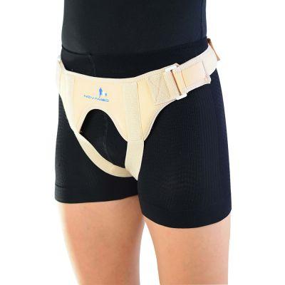 novamed inguinal hernia belt double sided left side picture