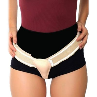 novamed inguinal hernia belt single sided belt around the right leg