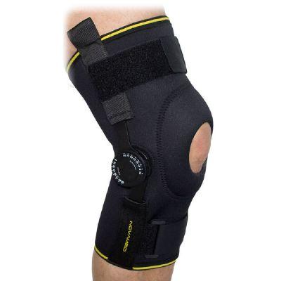novamed knee support with adjustable hinges for sale