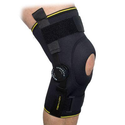 novamed knee support with adjustable hinges