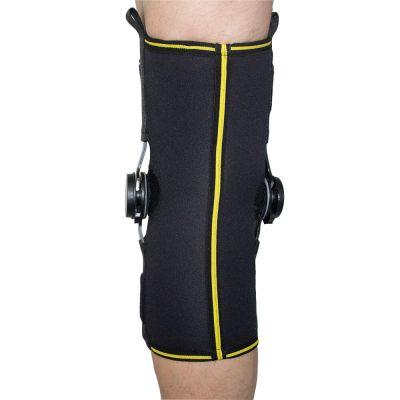 novamed knee support with adjustable hinges back view