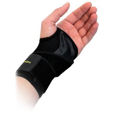 novamed lightweight wrist support inside of left hand