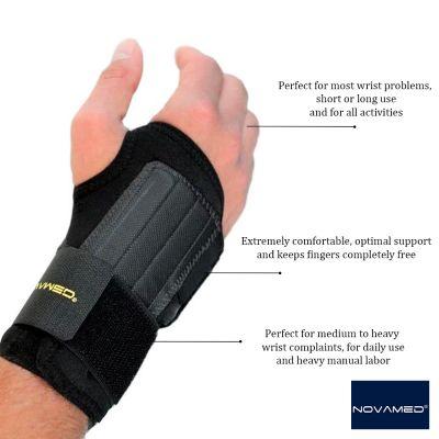 novamed lightweight wrist support product information