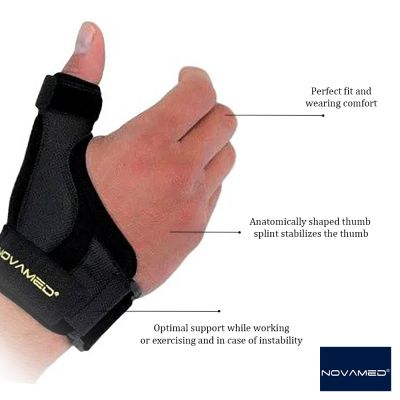 novamed manu thumb support product information