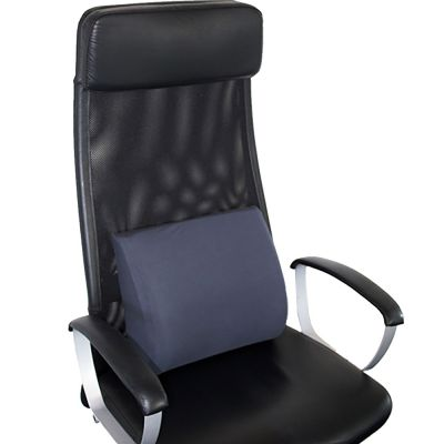 novamed orthopedic back support pillow in office chair