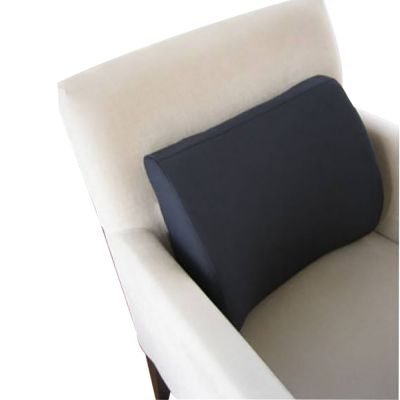 novamed orthopedic back support pillow in lounge chair