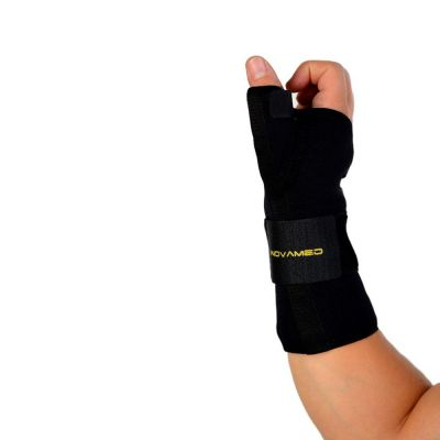 novamed thumb support wrist splint side view zoomed out