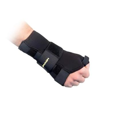 novamed thumb support wrist splint right hand zoomed out