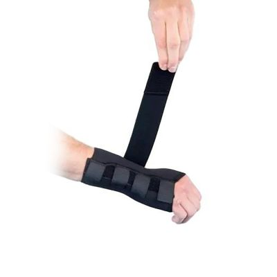 novamed thumb support wrist splint Velcro strap explanation