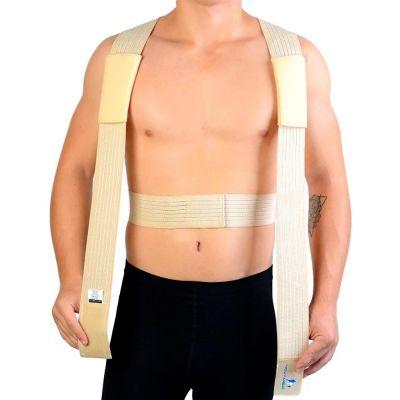 novamed ventilating back straightener posture corrector shoulder strap explanation