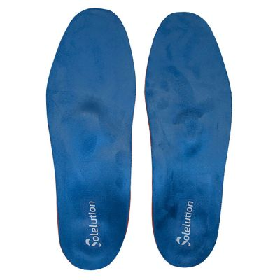 solelution arch collapsed foot insoles top view