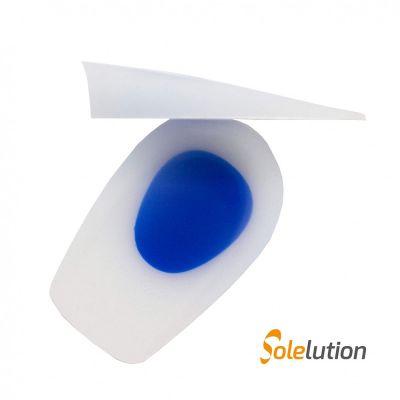 solelution half heel gel cups sideview