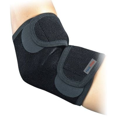 super ortho elbow support sleeve top view