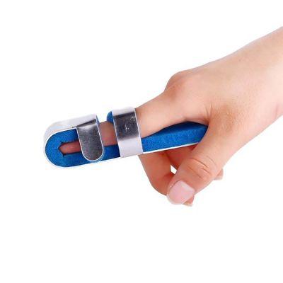 super ortho mallet finger finger splint around index finger on right hand