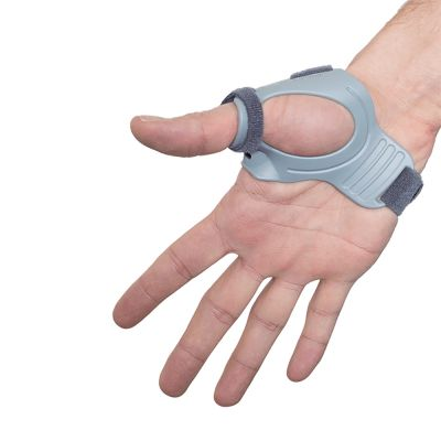 super ortho thumb support cmc inside of right hand