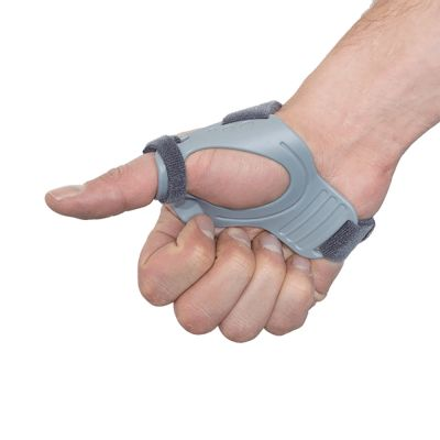 super ortho thumb support cmc with fist closed