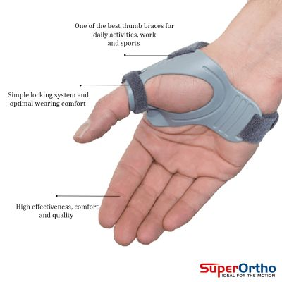 super ortho thumb support cmc product information